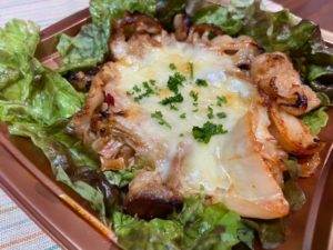 新居浜 とぽす 豚キムチーズ丼